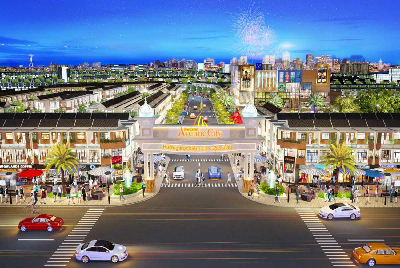Giới thiệu sơ lượt về Bình Dương Avenue City