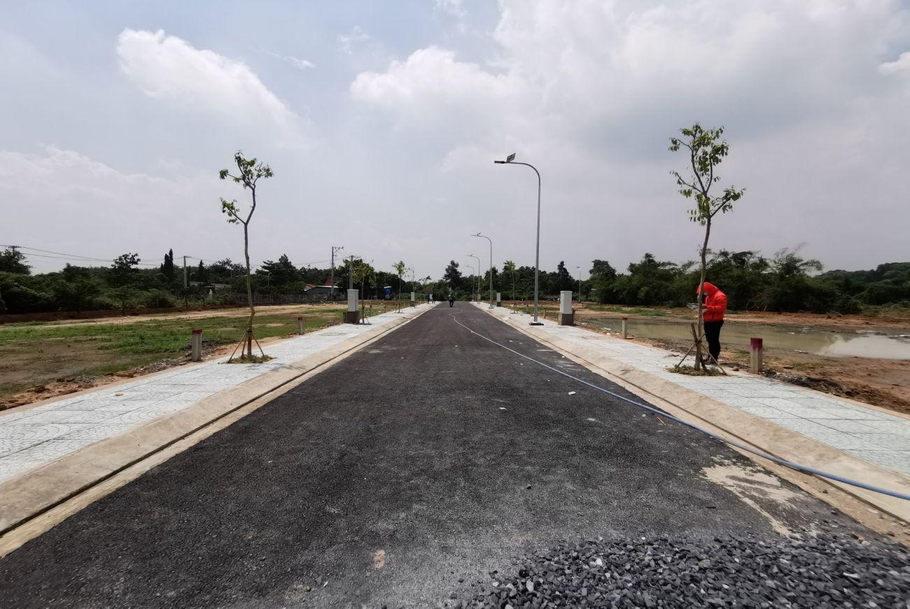 Tiến độ xây dựng nền đất khu Thịnh Vượng 2 Residence Củ Chi
