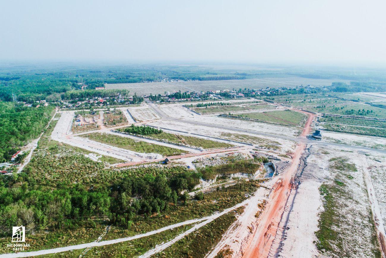Tiến độ xây dựng khu dân cư Becamex Bình Phước