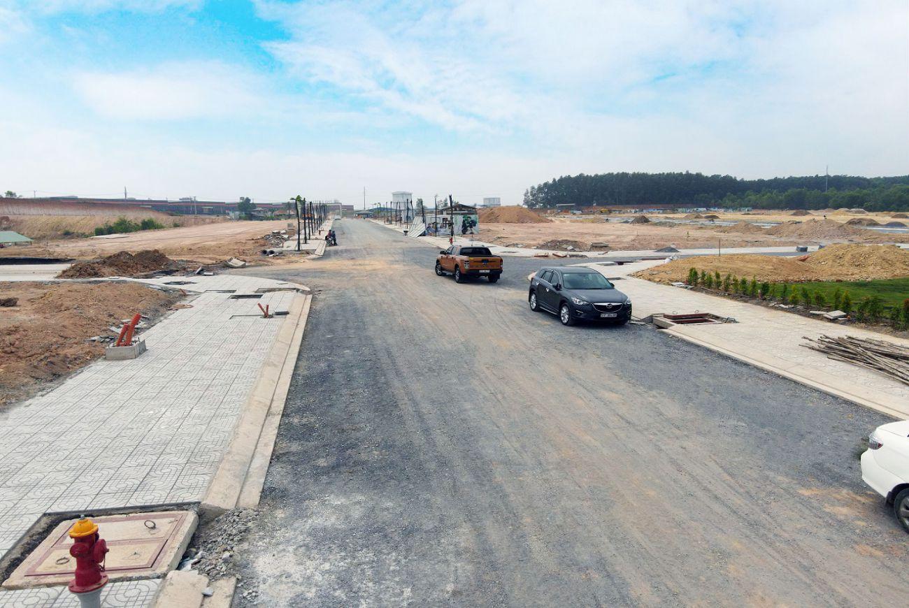 Tiến độ xây dựng tháng tại PNR Estella Trảng Bom