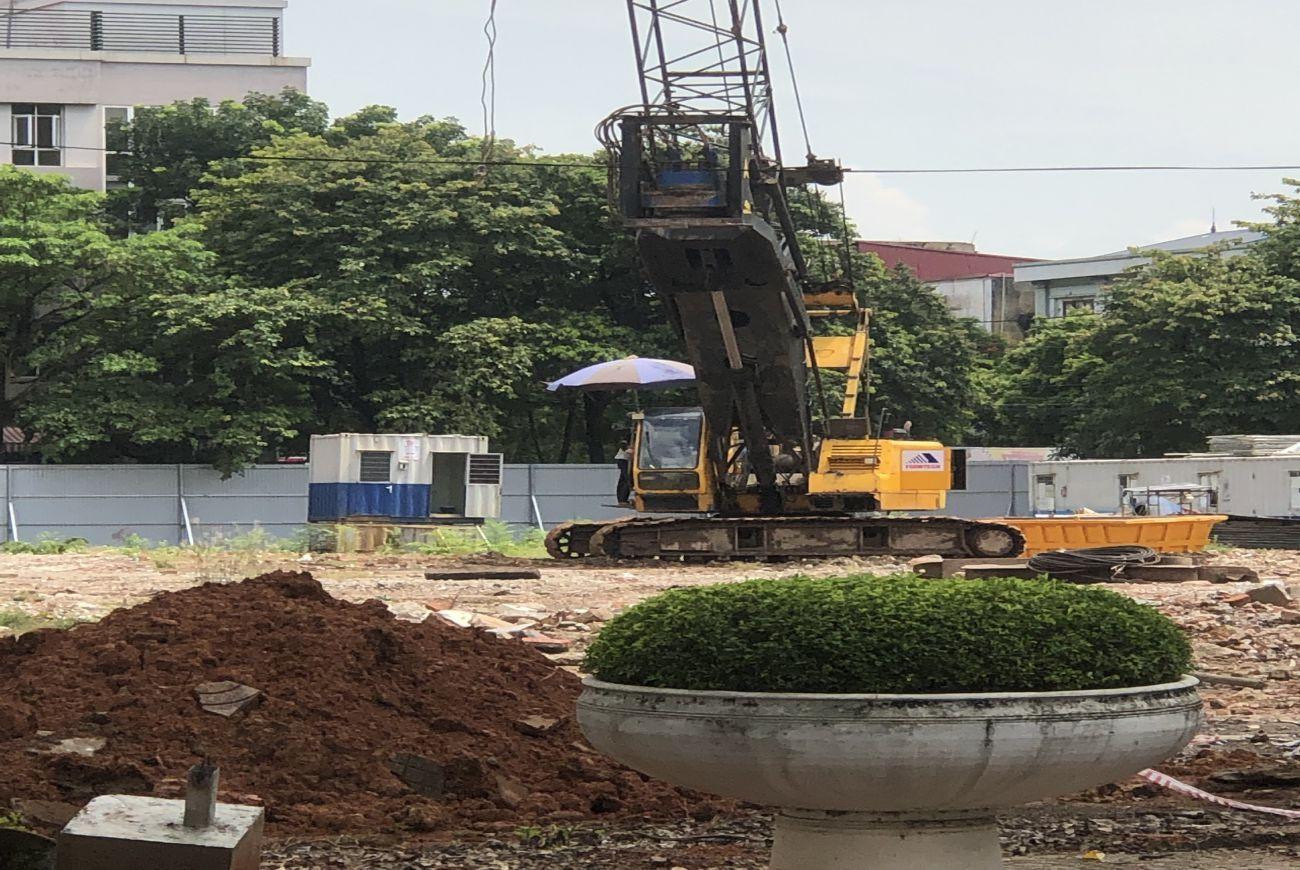 Tiến độ xây dựng tháng 08/2021 tại Vinhomes Sky Park Bắc Giang