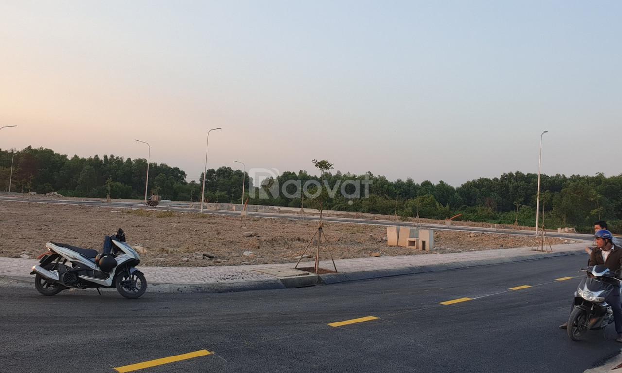 Tiến độ xây dựng khu dân cư Tân Lân Riverside Long An
