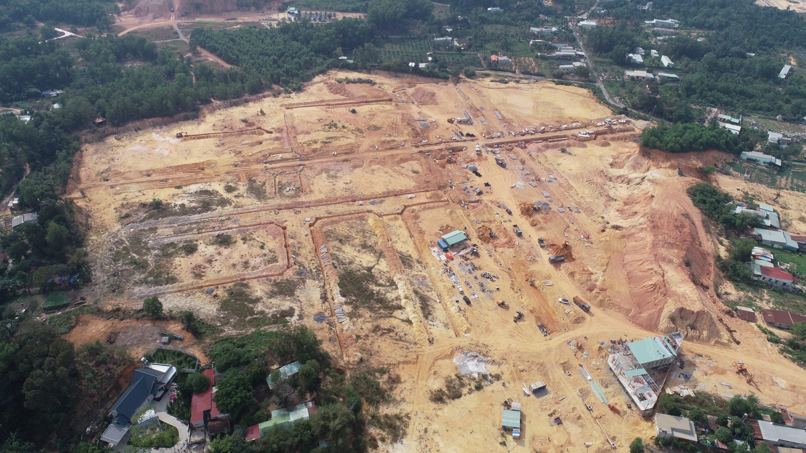 Tiến độ xây dựng  tại Long Hội Central Point