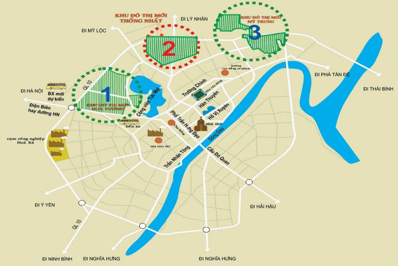 Vị trí chiến lược Khu Đô Thị Mỹ Trung