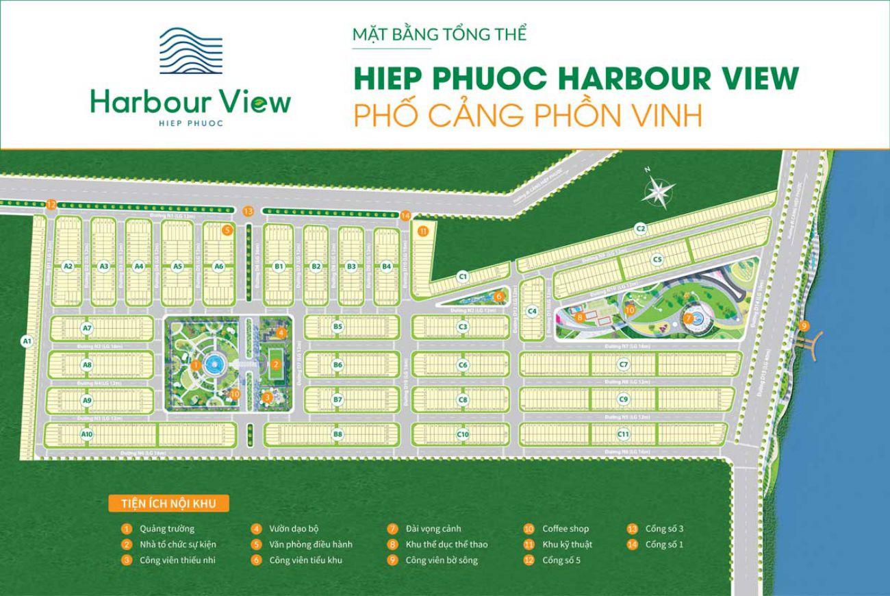 Mặt bằng Hiệp Phước Harbour View Long An