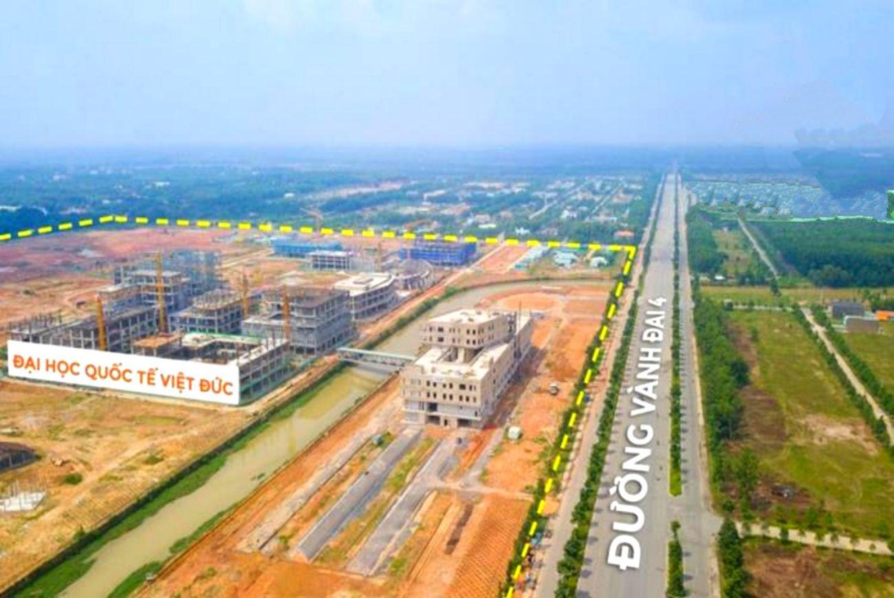 Tiến độ xây dựng tháng tại Bình Dương Avenue City