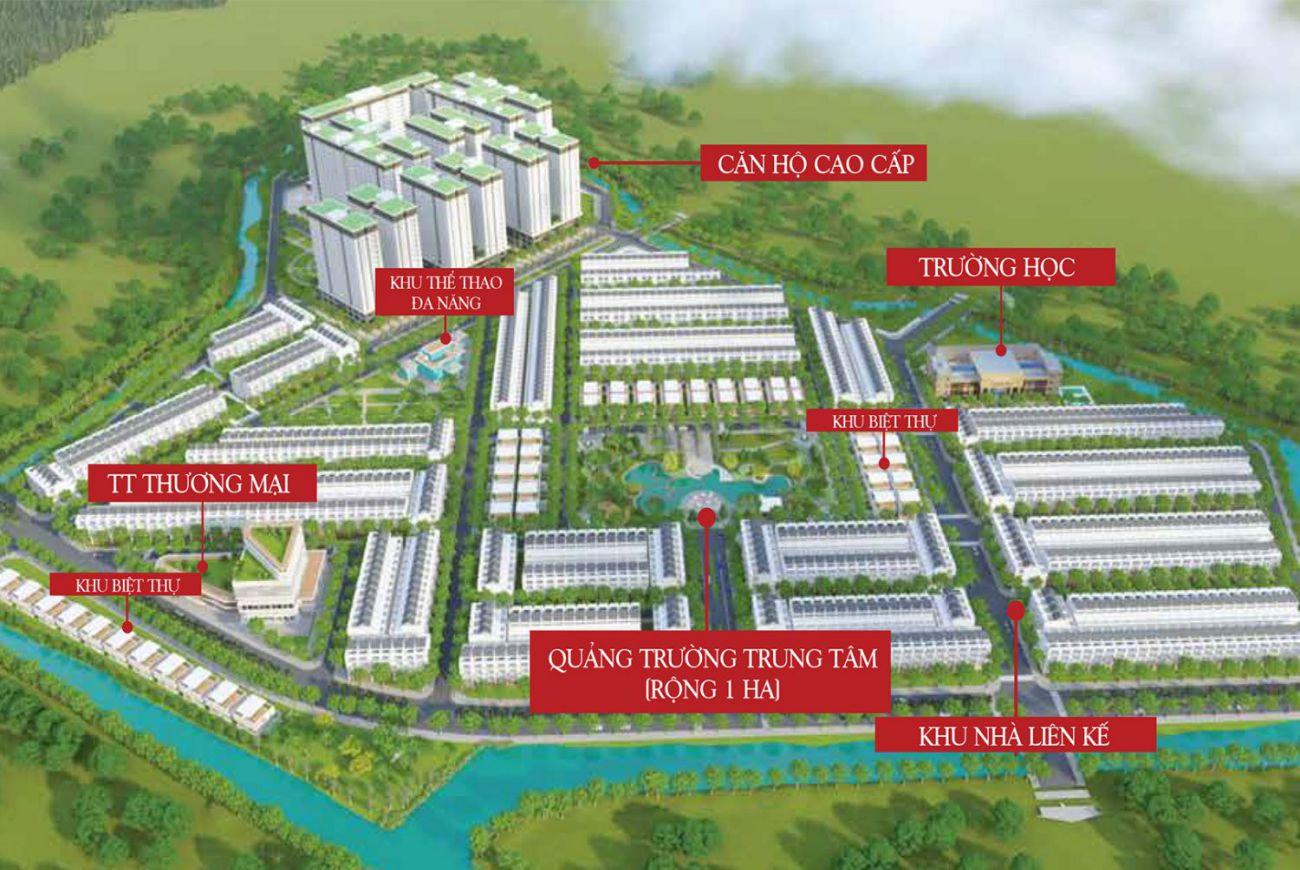 Thông tin chi tiết về Dự án Qi Island Bình Dương