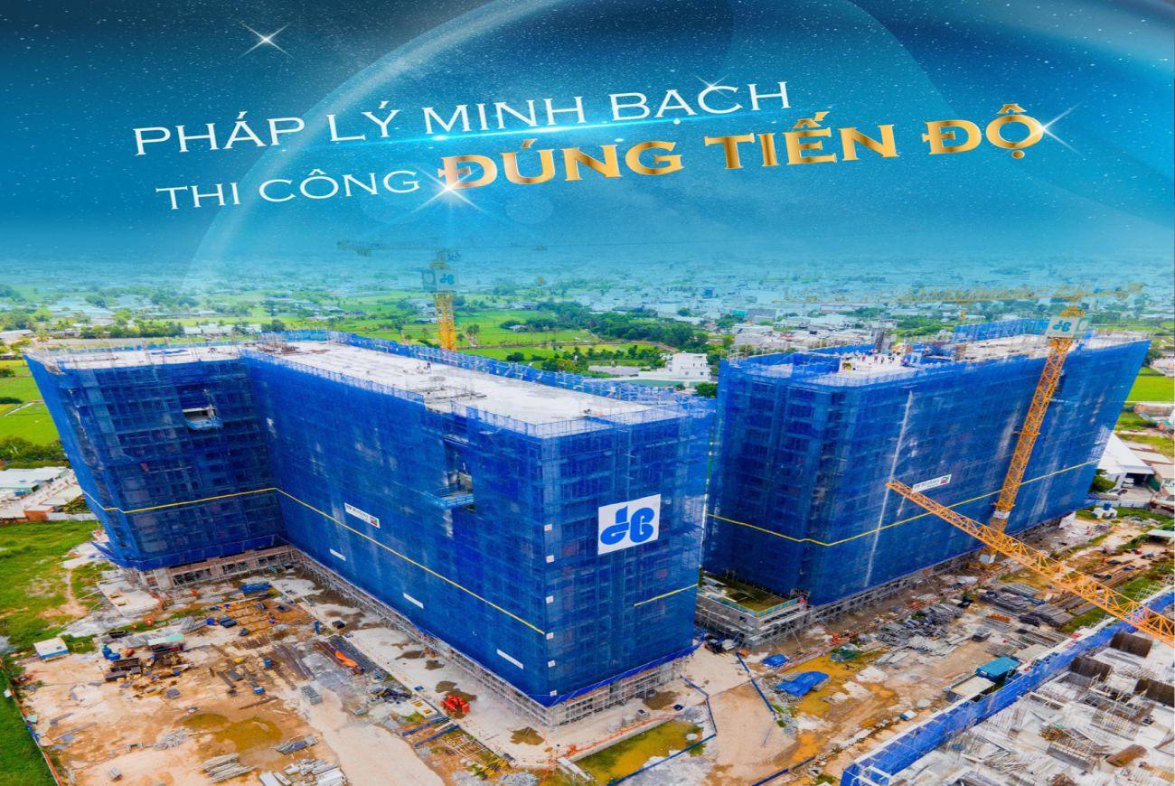 Tiến độ xây dựng tháng tại J Dragon Cần Đước Long An