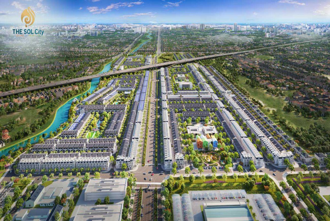 Thông tin chi tiết về Dự án The Sol City Sài Gòn