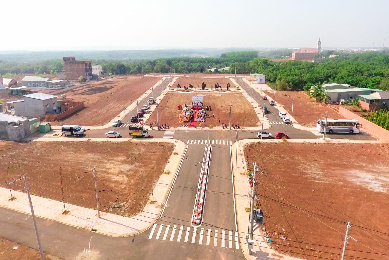 Tiến độ xây dựng khu dân cư Thuận Hoà Lucky Home Bình Phước