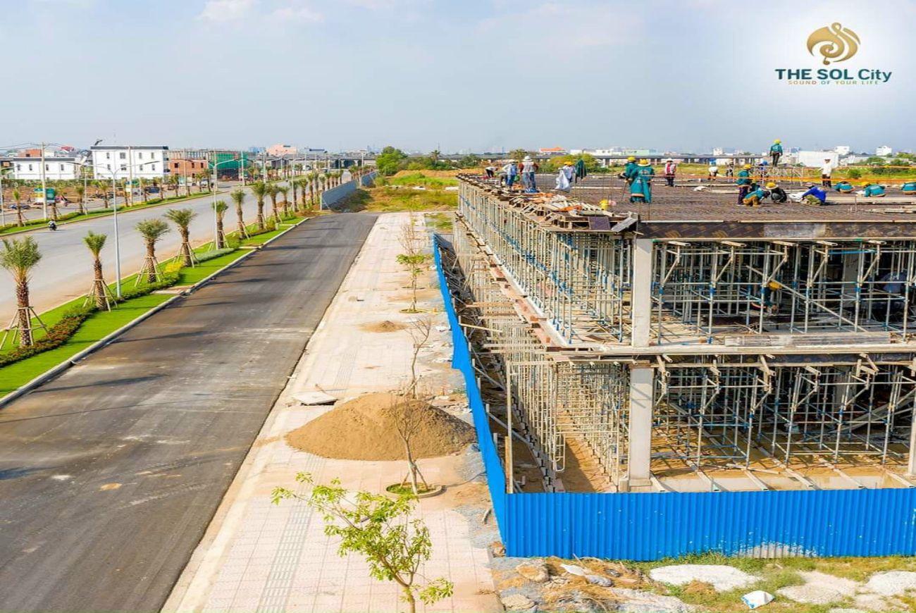 Tiến độ xây dựng tháng tại The Sol City Sài Gòn