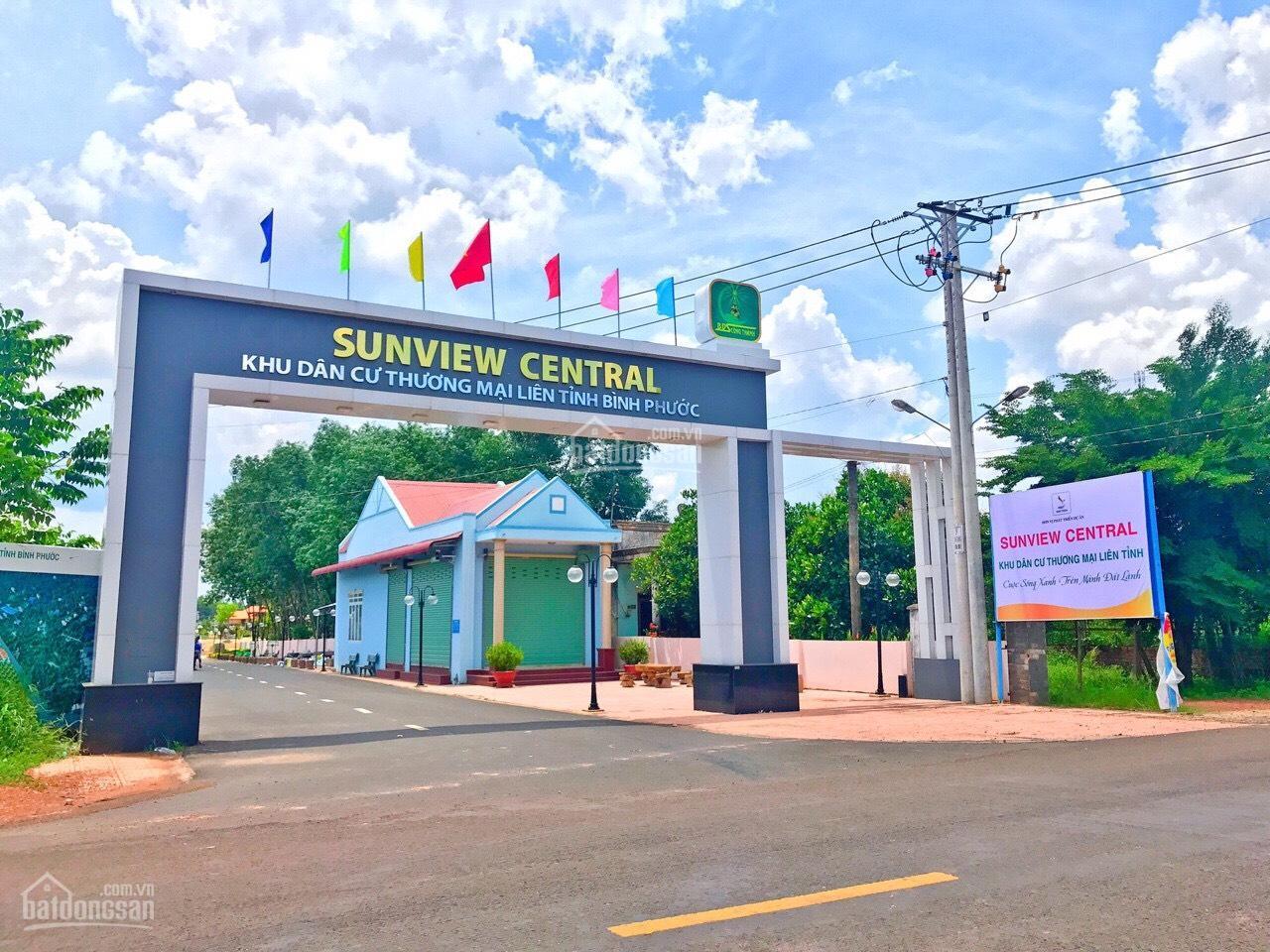 Tiến độ xây dựng khu dân cư Sunview Central Bình Phước