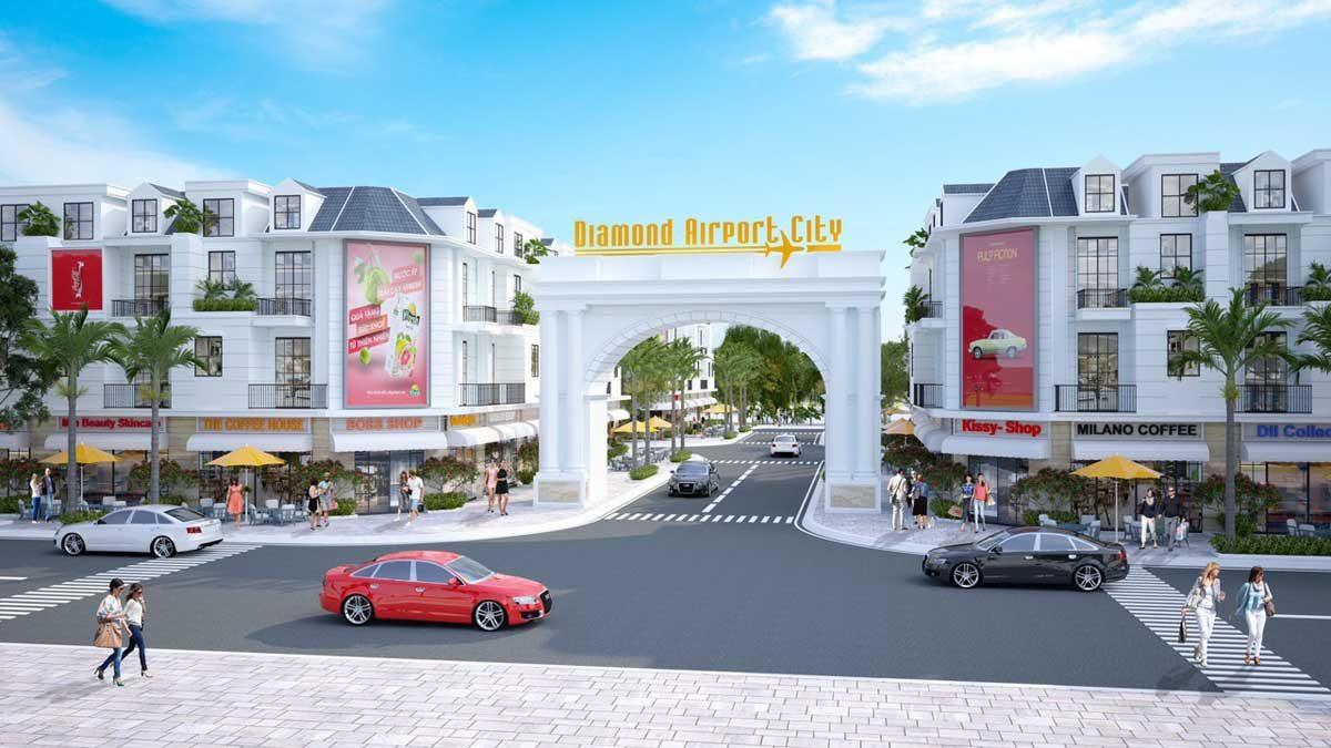 Thiết kế Diamond Airport City Long Thành