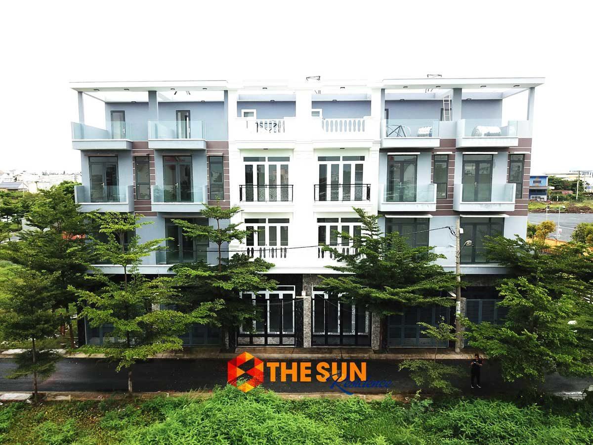 Tiến độ xây dựng khu dân cư The Sun Residence Nhà Bè