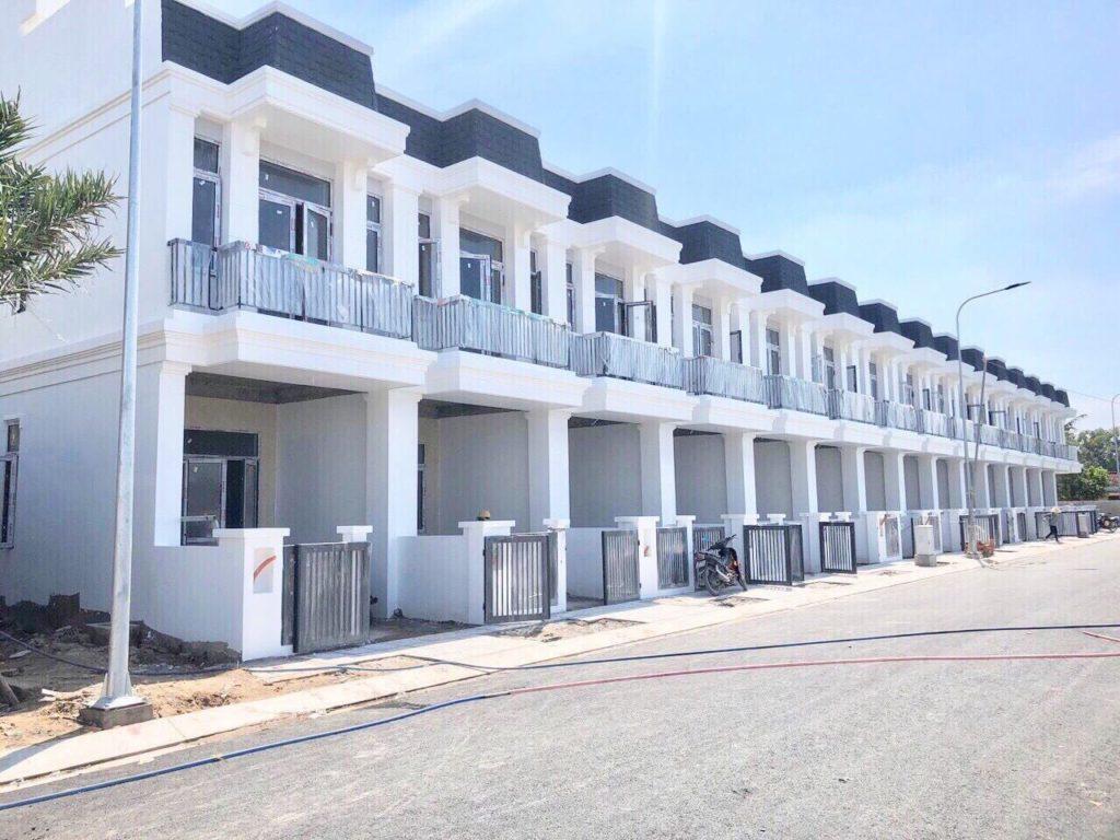 Tiến độ xây dựng khu dân cư Vina Town Tân An Long An