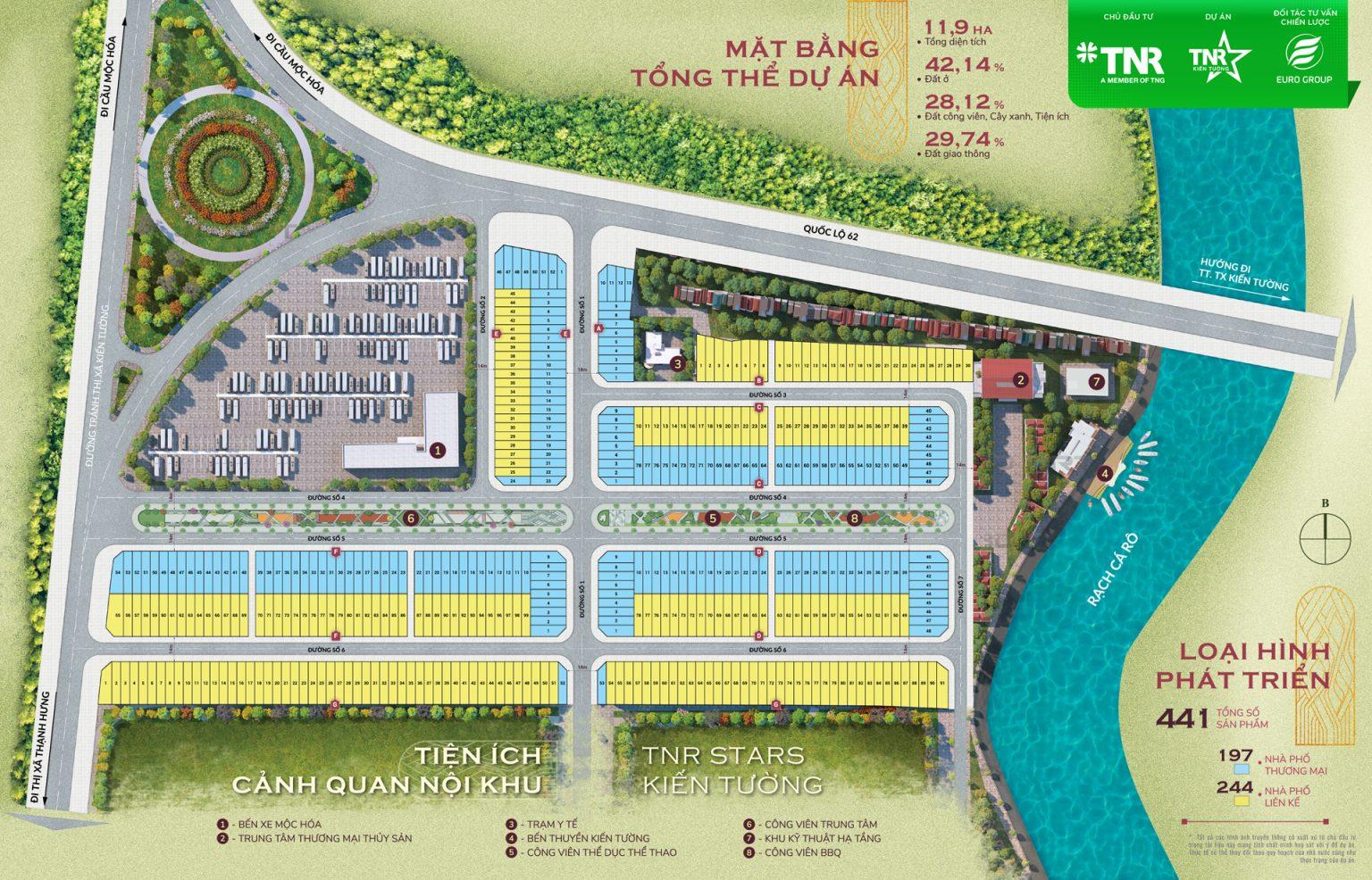 Mặt bằng TNR Grand Long Khánh