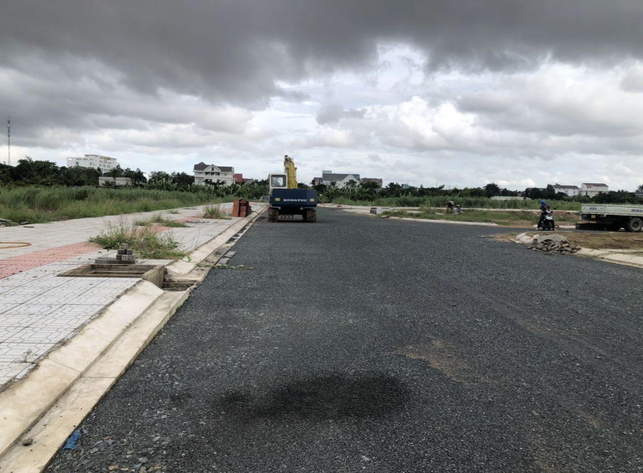 Tiến độ xây dựng Cồn Khương Diamond City tháng 10/2021